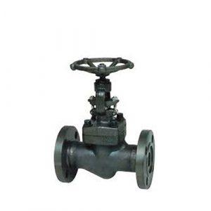 ANSI manual A105 forging flange globe valve 150lb 800lb