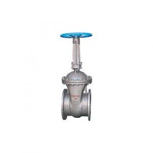 cast-steel-gate-flanged-valve