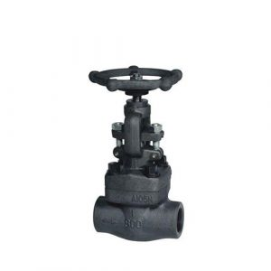 API602 Industrial forged steel stop globe valve