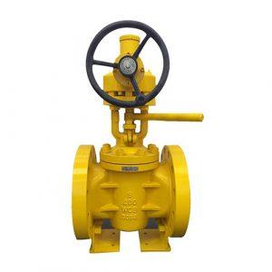 Flange Lift Plug valve metal to metal API 599 API6D