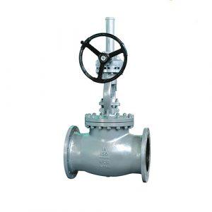 WZLD High Pressure ASME B16.10 Marine Angle Cast Steel Globe Valve Dn65 For Sea Water