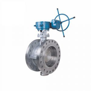 concentric flanged stainless steel butterfly valve