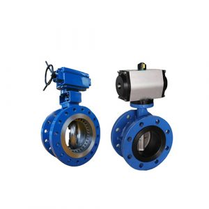 pdusa-Motorized Double Eccentric Butterfly valve