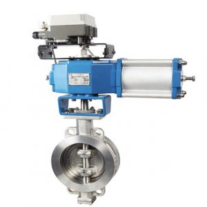 Stainless Steel Pneumatic 150LB Double Triple Eccentric Butterfly Valve